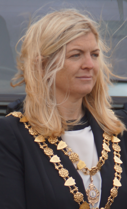 Coun Suzanne Tanner - Mayor of St Ives