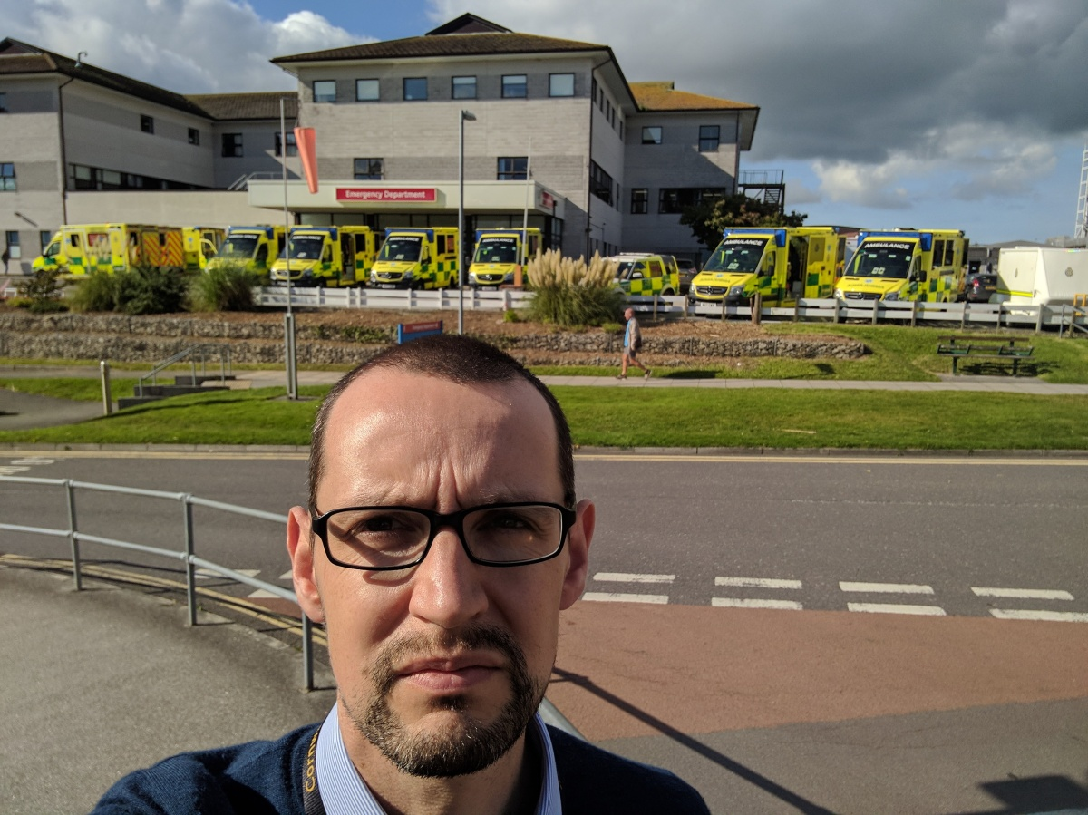The '10 Ambulances' pic went viral - Councillor tells us of the brick wall of NHS funding