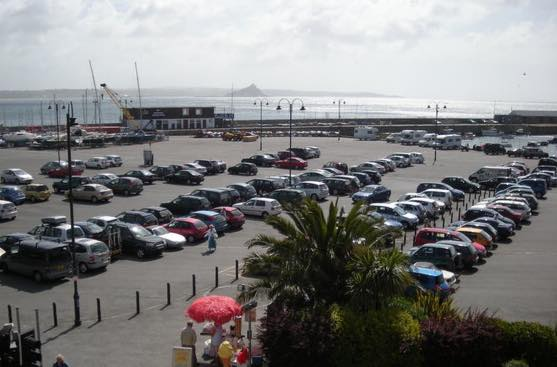 penzance car park