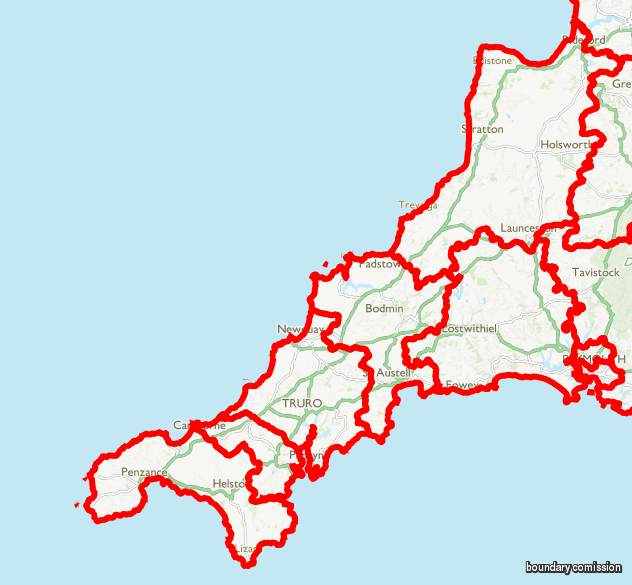 devonwall map